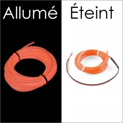 Fil électroluminescent Orange diamètre 1.4mm